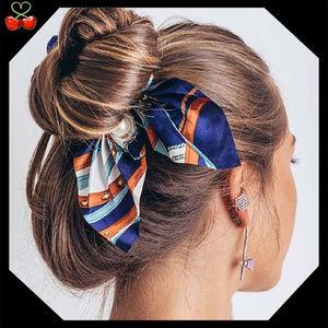 🍒 Chiffon Bowknot Scrunchies 🎀